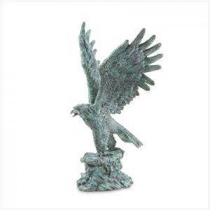 Metal Eagle Statue
