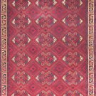 4'*6'Krim Red Hand Knotted Wool Area Rug/Carpet 46
