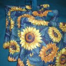 Potholders sunflower theme
