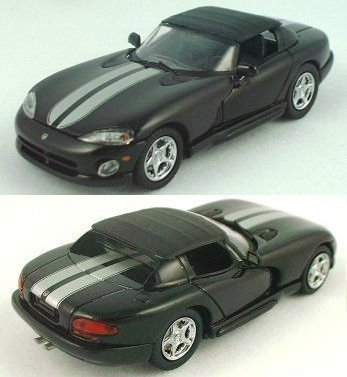 1/43 Black Dodge Viper by Eagle's Race