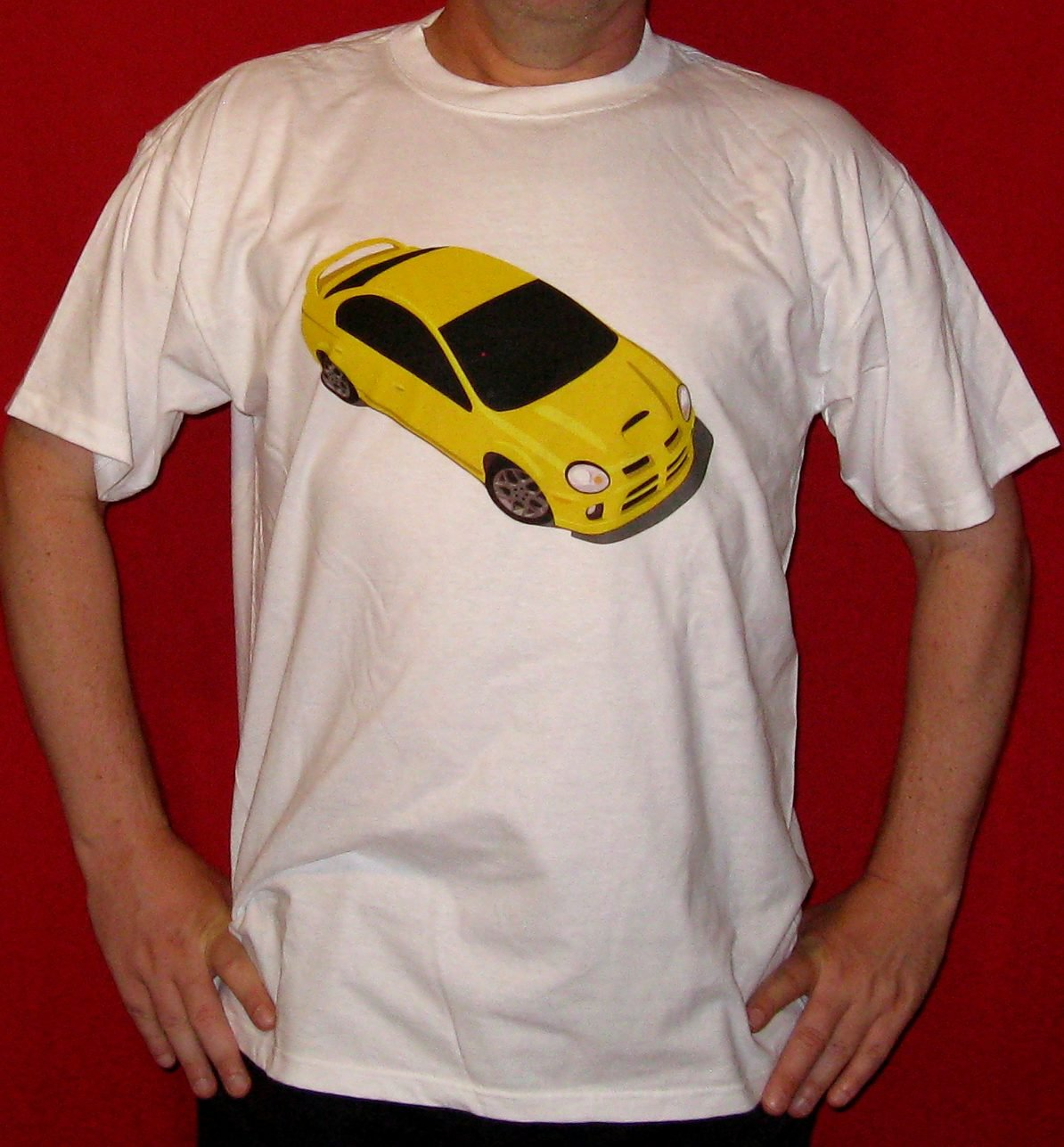 Yellow Dodge Neon SRT-4 T-Shirt
