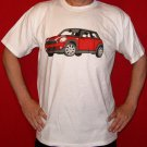 Red Mini Cooper T-Shirt