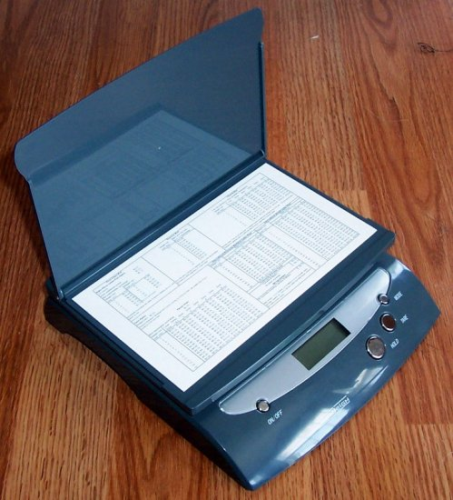 36 LB DIGITAL POSTAL SCALES - Gray