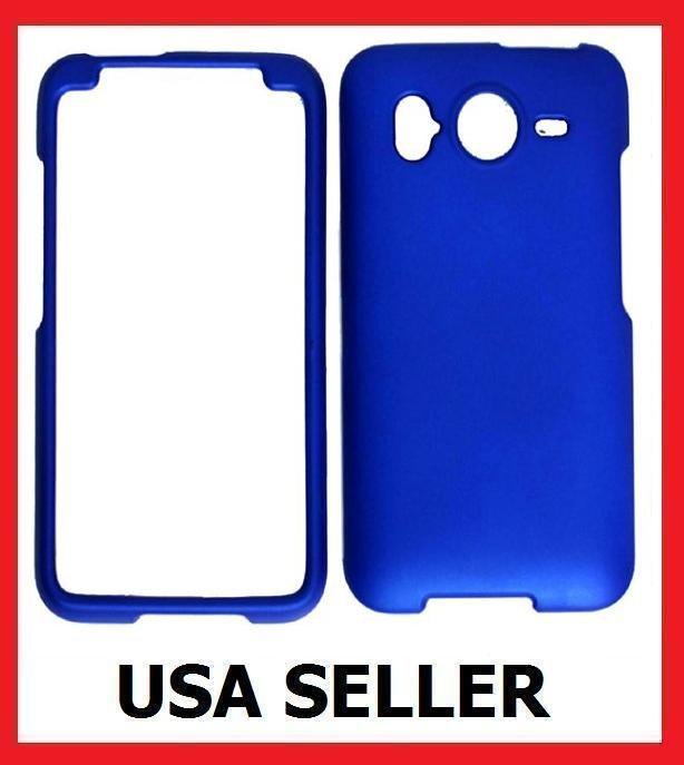 HTC Inspire 4G Faceplate Hard Cover Case BLUE