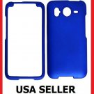 HTC Inspire 4G Faceplate Hard Cover Case BLUE