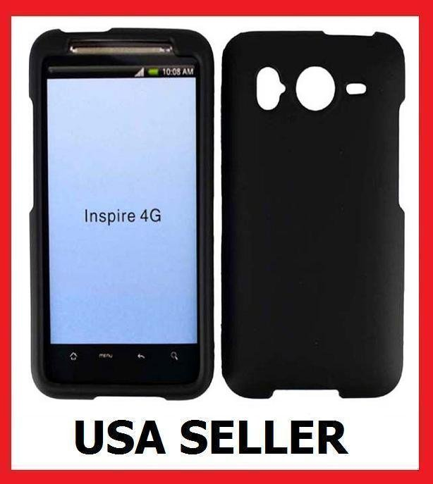 HTC Inspire 4G Faceplate Hard Cover Case BLACK
