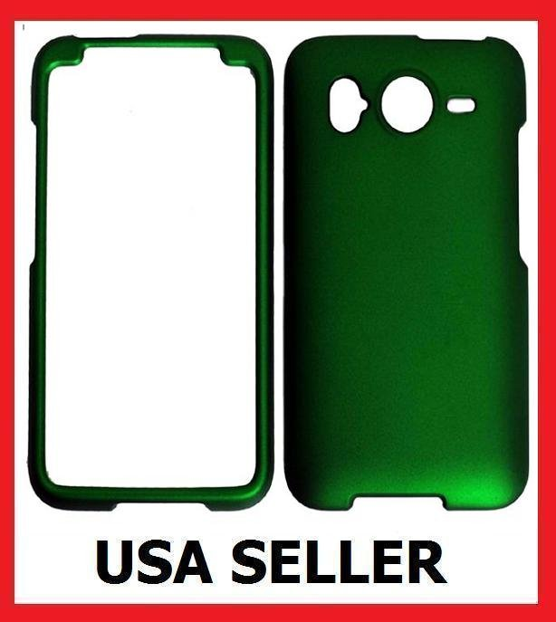 HTC Inspire 4G Faceplate Hard Cover Case GREEN
