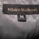 NWT Mieko Mellucci Akira Metallic Cocktail Dress M Med