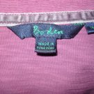 Boden Purple Classic Cotton Collared Shirt Top 18 XL