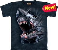 Breakthrough Shark T-Shirt by The Mountain M,L,XL