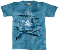 Sharks T-Shirt by The Mountain M,L,XL