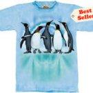 Penguin Dye T-Shirt by The Mountain M,L,XL