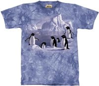 Penguin Family T-Shirt by The Mountain M,L,XL