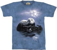 To Love One an Otter T-Shirt by The Mountain M,L,XL