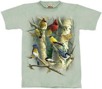 Songbirds T-Shirt by The Mountain M,L,XL