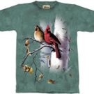 Cardinals & Birch T-Shirt by The Mountain M,L,XL