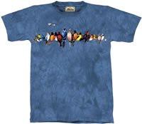 Chorus Line Songbirds T-Shirt by The Mountain M,L,XL