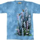 Blue Heaven Hummingbird T-Shirt by The Mountain M,L,XL