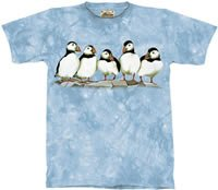 Possibly Puffins T-Shirt by The Mountain M,L,XL