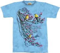 Goldfinches T-Shirt by The Mountain M,L,XL
