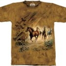 Sacred Passage Horse T-Shirt by The Mountain M,L,XL