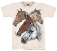 Equestrian Dream Horse T-Shirt by The Mountain M,L,XL