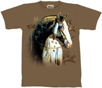 Painted Pony Horse T-Shirt by The Mountain 2XL, 3XL