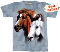 Heading Home Horse T-Shirt by The Mountain 2XL 3XL