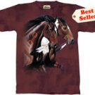 Freedom's Frolic Horse T-Shirt by The Mountain 2XL 3XL