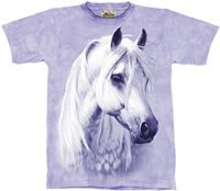 Moon Shadow Horse T-Shirt by The Mountain 2XL 3XL