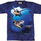Sea Turtles T-Shirt by The Mountain 2XL 3XL