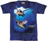 Sea Turtles T-Shirt by The Mountain 2XL 3XL