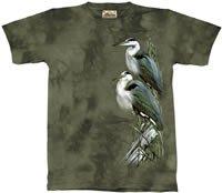 Blue Duo T-Shirt by The Mountain 2XL 3XL