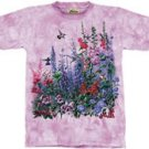 Wind Dancers Hummingbird & Foxgloves T-Shirt by The Mountain 2XL 3XL
