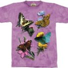 Butterfly Study T-Shirt by The Mountain 2XL 3XL