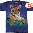 Tiger Cub T-Shirt by The Mountain M L XL