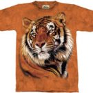 Power & Grace Tiger T-Shirt by The Mountain M L XL