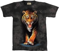 Stalking Tiger T-Shirt by The Mountain M L XL