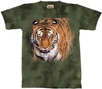 Close Encounter Tiger T-Shirt by The Mountain M L XL