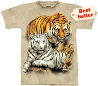 Wild Hearts Tiger T-Shirt by The Mountain M L XL