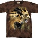 Beauty & the Beast Lion & Lioness T-Shirt by The Mountain M L XL