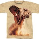 Rush Elephant T-Shirt by The Mountain M L XL