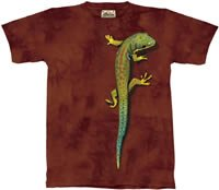 Bright Eyes Lizard T-Shirt by The Mountain M L XL