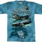 Gators Alligator T-Shirt by The Mountain M L XL