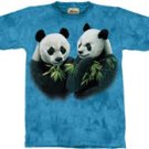 Pandas Panda T-Shirt by The Mountain M L XL