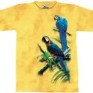 Macaws Parrot T-Shirt by The Mountain M L XL