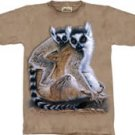 Ring Tailed Lemurs Lemur T-Shirt by The Mountain M L XL