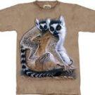 Ring Tailed Lemurs Lemur T-Shirt by The Mountain M L XL
