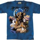 World of Animals Zoo & Safari Animal T-Shirt by The Mountain 2XL 3XL