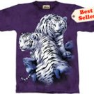 Sanctuary White Tiger T-Shirt by The Mountain 2XL 3XL